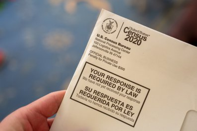 census participation rate refusing 2020
