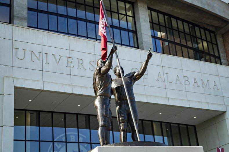 University of Alabama COVID-19 coronavirus cases