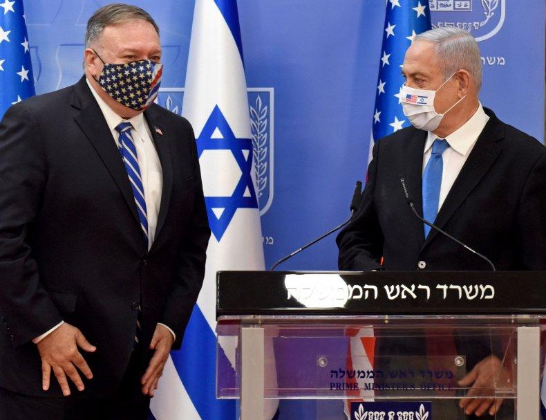 Mike Pompeo, Benjamin Netanyahu, Israel, UAE, Iran