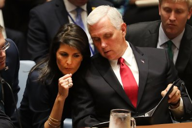 mike pence nikki haley 2024