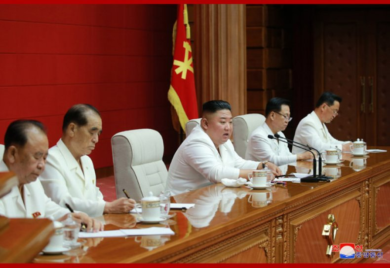 north, korea, kim, jong, un, plenary, meeting