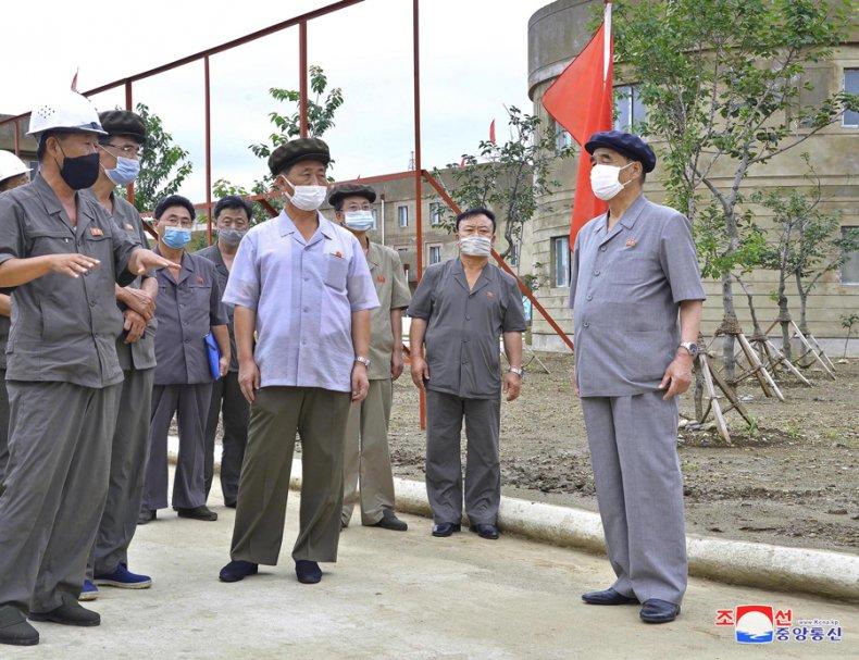 DPRK, kim, tok, hun, pak, pong, ju
