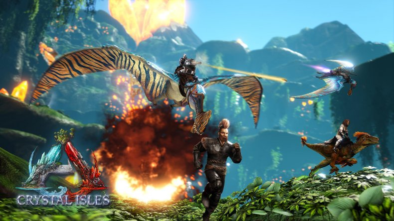 ark update 235 patch notes crystal isles
