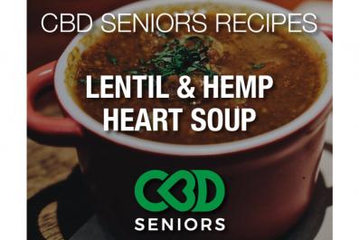 Newsweek AMPLIFY - Lentil Hemp Heart Soup
