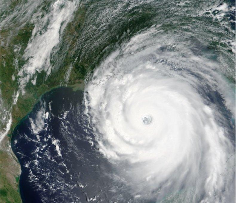 hurricane katrina 2005 space