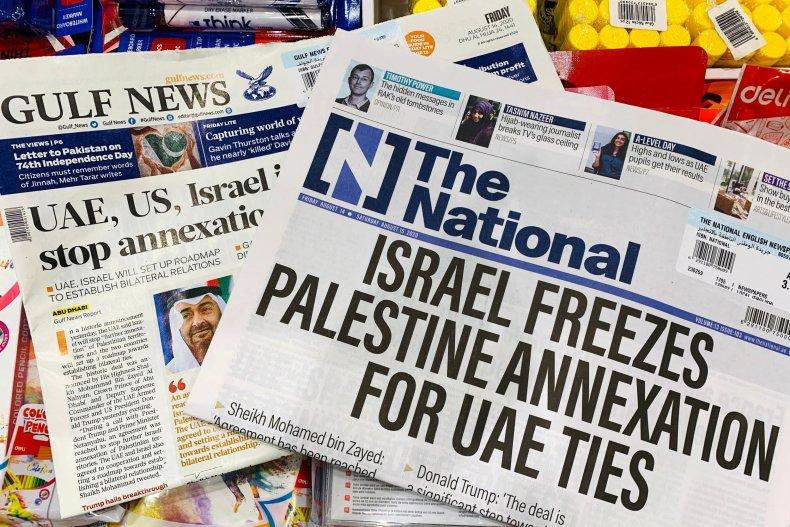 UAE, Israel, Donald Trump Jr., normalization, media