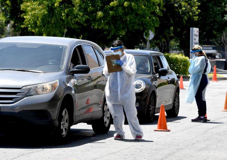 Coronavirus testing in California