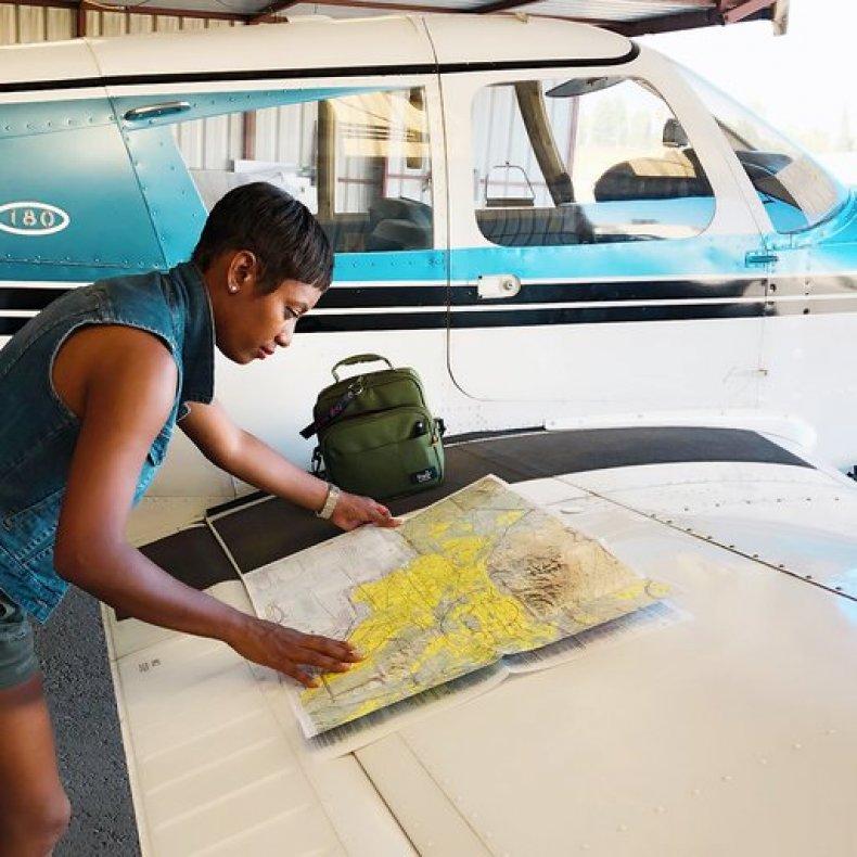 Licensed Pilot Kellee Edwards Charts a Flight