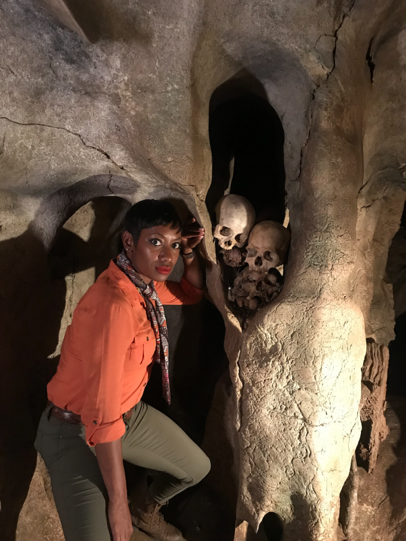Kellee Explores Caves in Indonesia