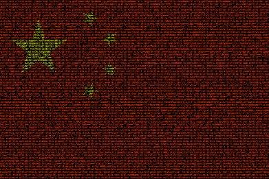 china, flag, computer, code