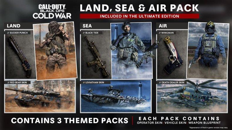 black ops cold war reveal land sea
