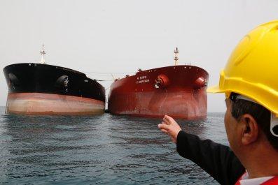 Iran oil China arrest