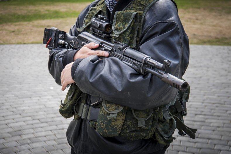 militia stock photo