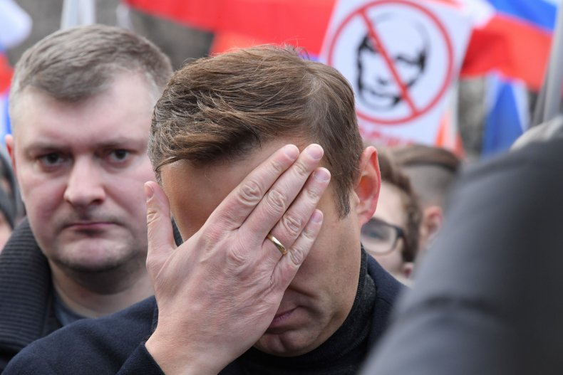 Russian opposition leader Alexei Navaln