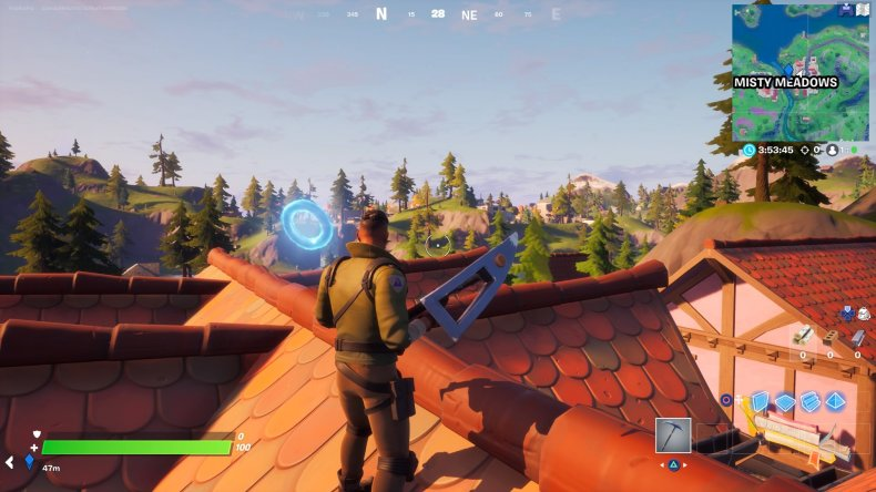fortnite misty meadows ring 1 gameplay