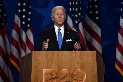 Joe Biden Delivers 2020 DNC Speech