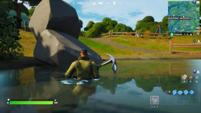 fortnite claw marks location 4 gameplay