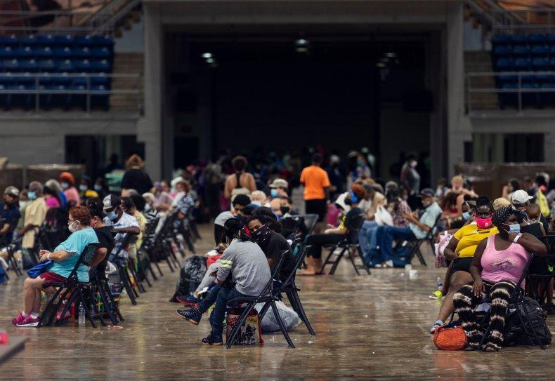 shelter hurricane laura