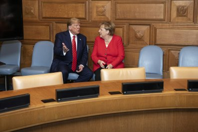Donald Trump, Angela Merkel, charm, Richard Grenell