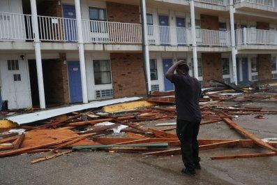 Hurricane Laura, Lake Charles, Louisiana