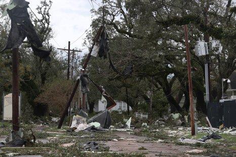 Hurricane Laura Damage