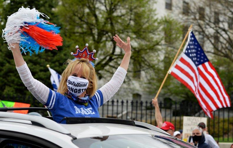 Boston Massachusetts protest May 2020 coronavirus