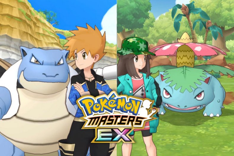 pokemon masters ex blue leaf sygna suits