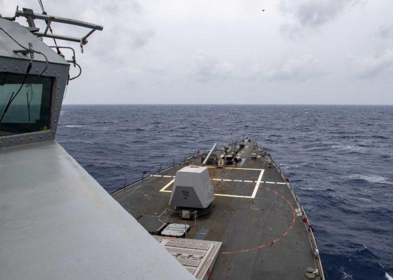 uss, mustin, navy, paracel, islands, china