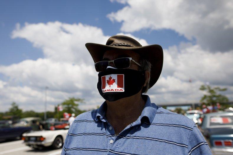 Canadian Flag Face Mask