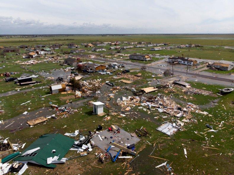 Lake Charles Louisiana Hurricane Laura Damage
