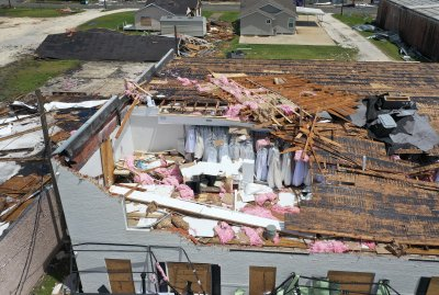 Lake Charles Louisiana Hurricane Laura Damage