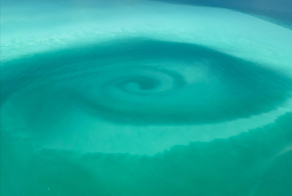"""Hurricane Laura created """"crazy"""" colored eddy in Florida's Key West"""