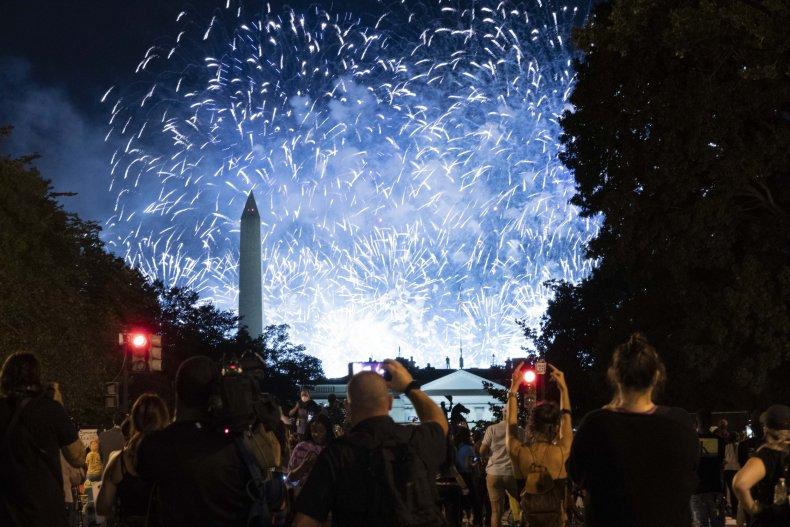 RNC fireworks