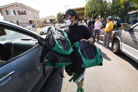 backpack drive LA