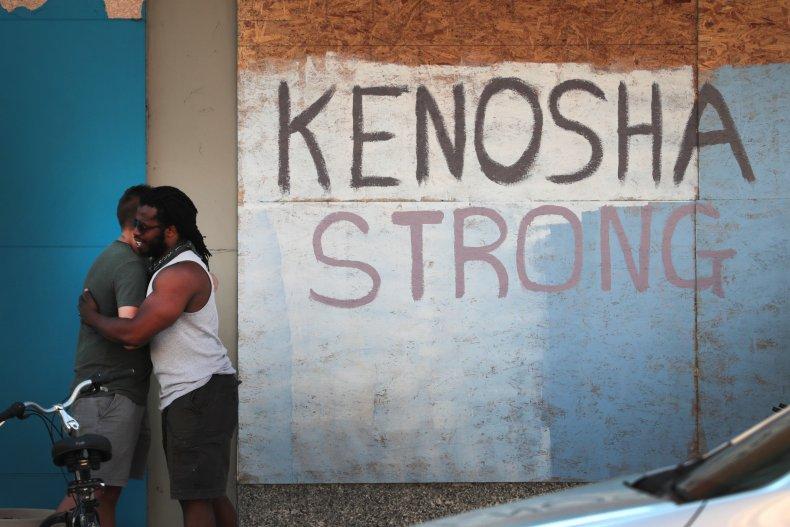 kenosha strong mural wisconsin 2020