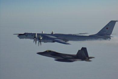 NORAD, intercept, russia, alaska