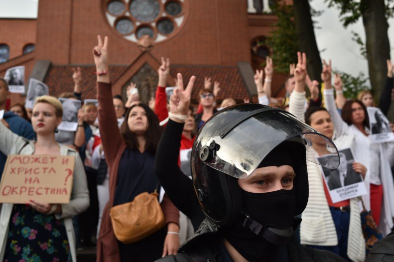 belarus, protest, elections, security, forces