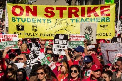 2019 teachers' union strike in Los Angeles