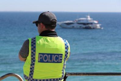 Australia police officer