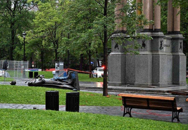 John Macdonald statue