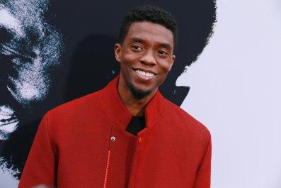 Black Panther star Chadwick Boseman