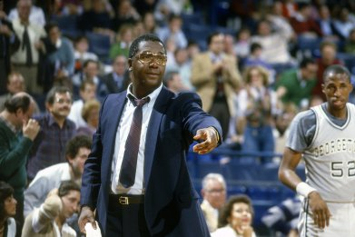 Georgetown Coach John Thompson