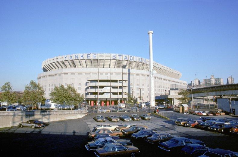 1980s Old Yankee Stadium Bronx