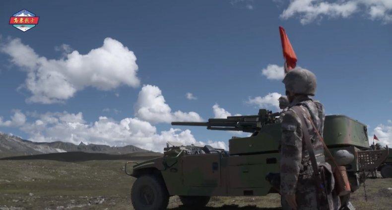 china, tibet, military, region, training