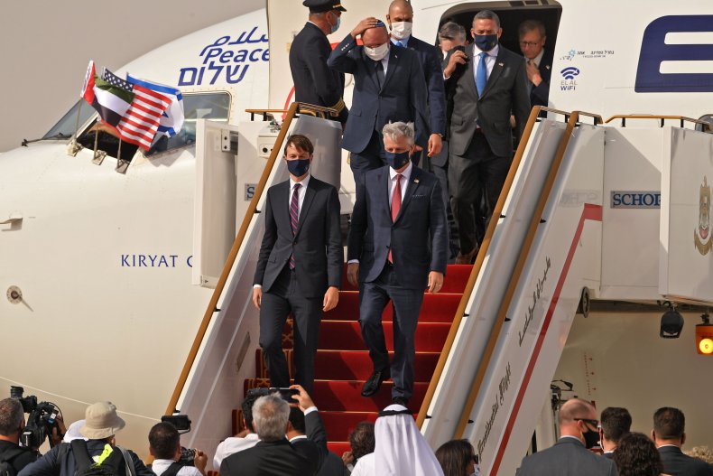 First-ever commercial flight from Israel to the
