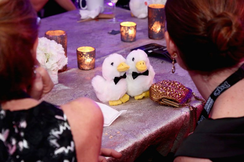 Aflac ducks