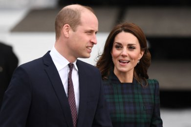 Prince William and Kate Middleton V&A Dundee