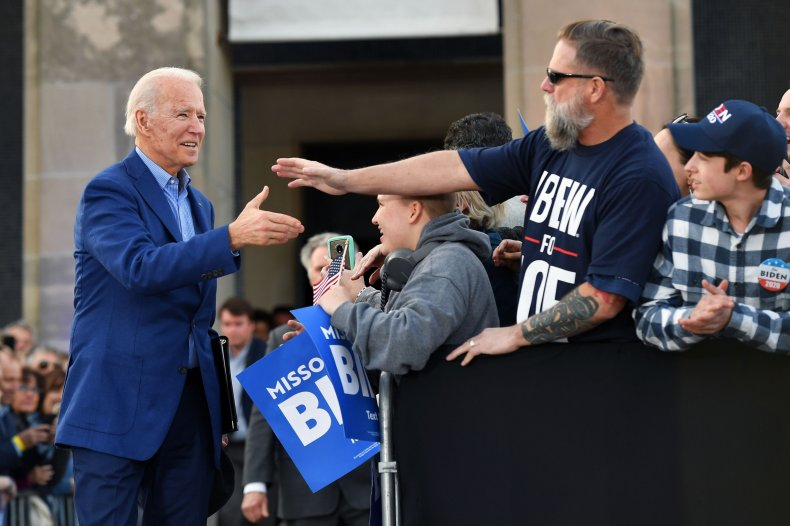 joe biden polls donald trump battleground