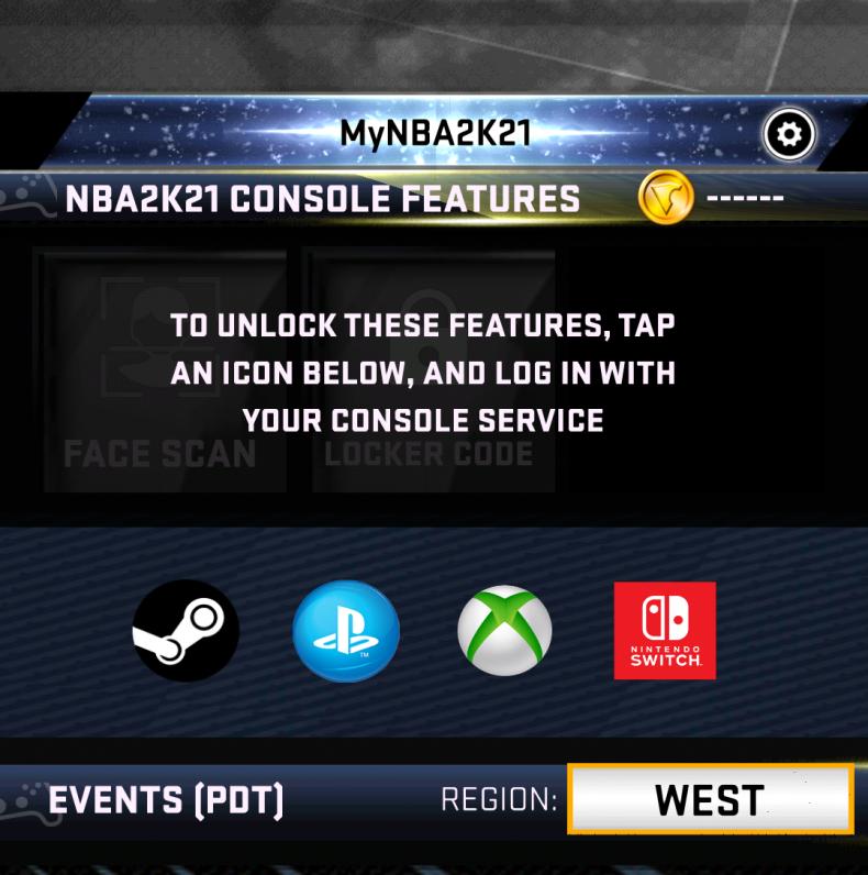 nba 2k21 face scan console