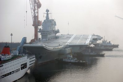 China, aircraft carrier, Shandong, South China Sea